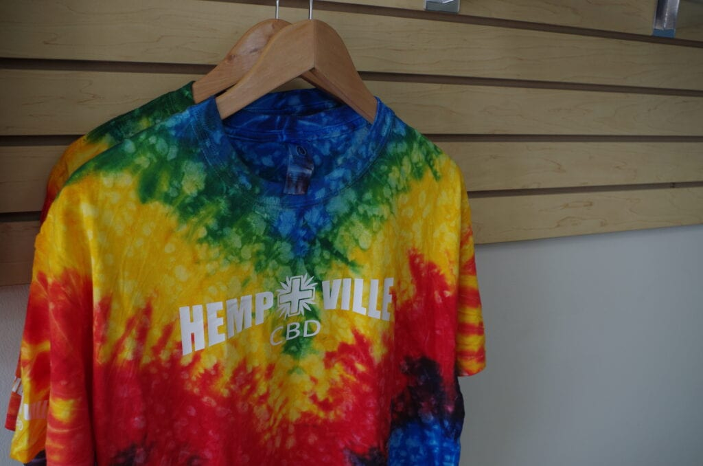 Hemp+Ville CBD Apparel Tie Die Shirt